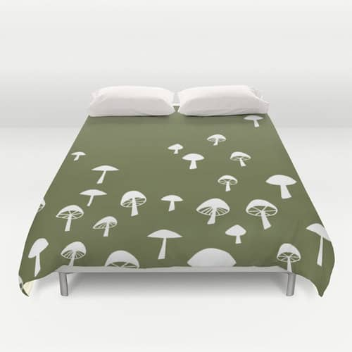 Mushroom Doona Cover