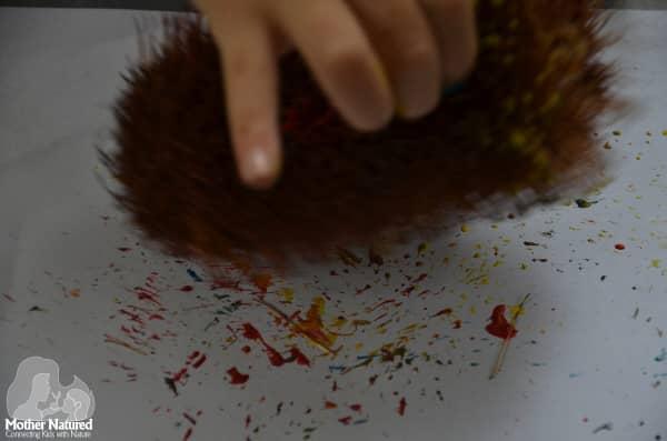 Gumnut painting