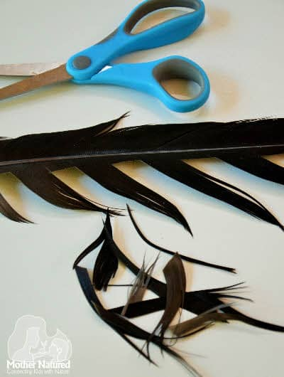 Feather crafting