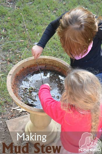Making Mud Stew - do you really need a Mud Kitchen?