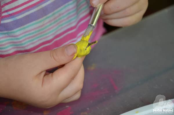 Painting Gumnuts