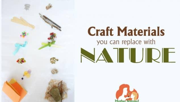Natural Craft Materials