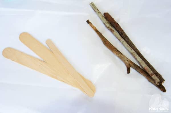 Nature Craft Materials