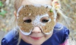Nature superhero masks