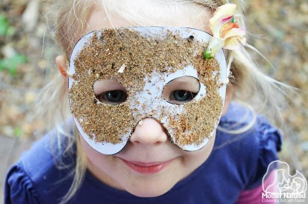 Printable Nature masks for little superheros