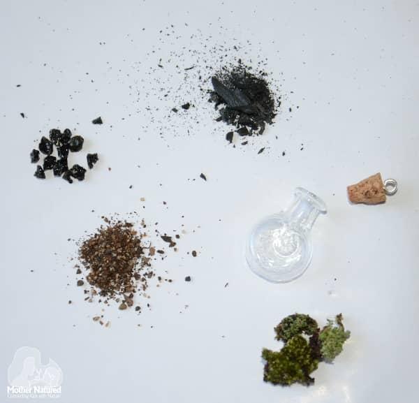 Terrarium Necklace ingredients