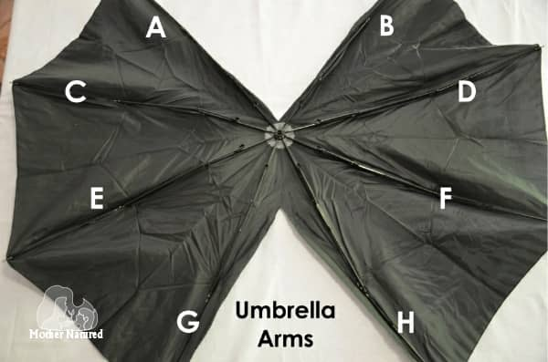 4. umbrella arms : costume bat wings  - Germanpascual.Com