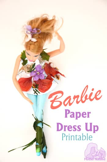 Barbie paper dresses