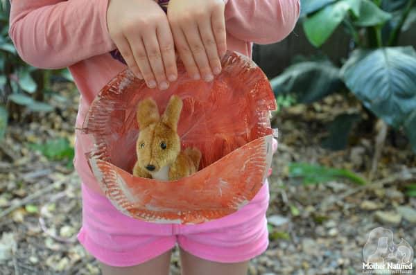 Easy Kangaroo Pouch Craft