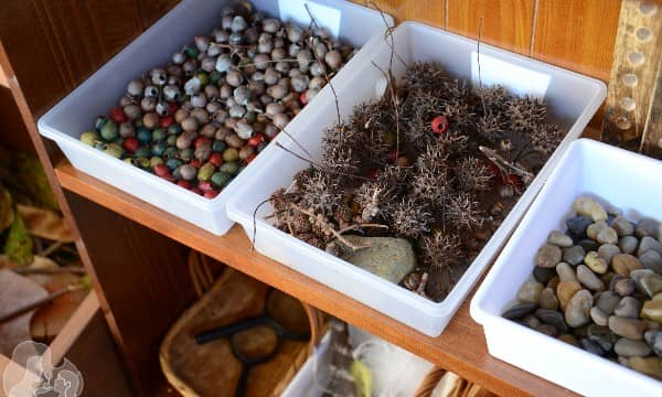 How to create a Nature Craft Play Space