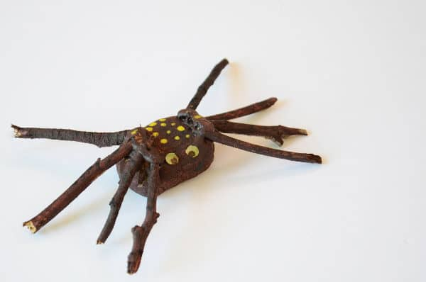 A Simple spider craft idea for kids