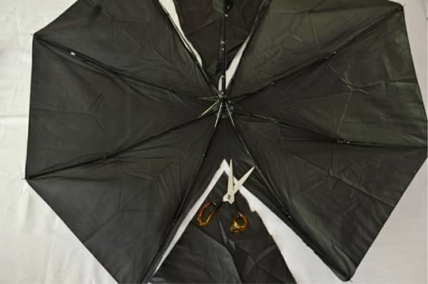 Umbrella bat wings how to & Umbrella Bat Costume: Easy to follow no sew instructions