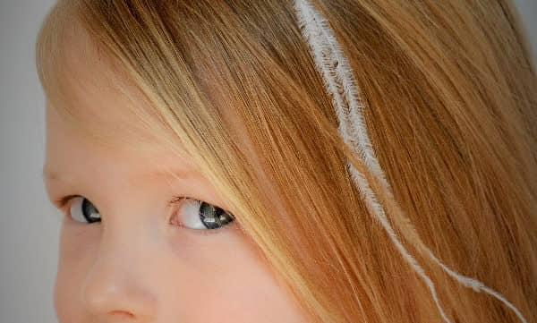DIY Feather hair accessories for kids