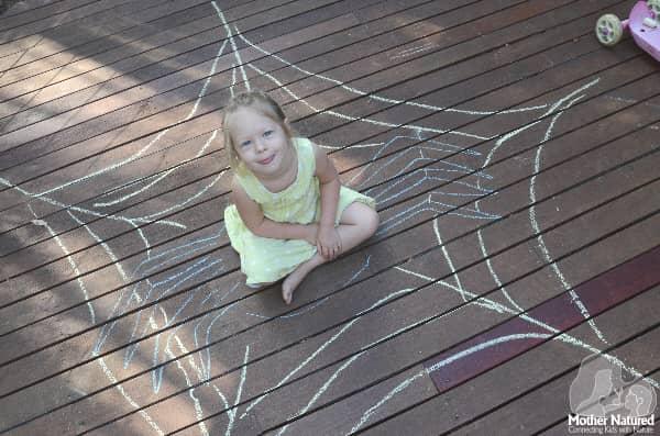 Animal Chalk Drawing Activity