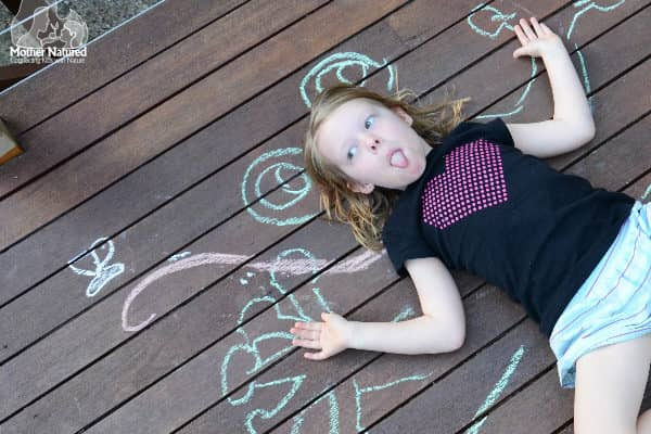 Eight animal chalk drawings you should try with your kids