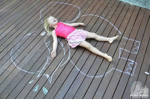 Elephant Chalk Drawing