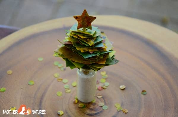 Christma Tree Nature Craft