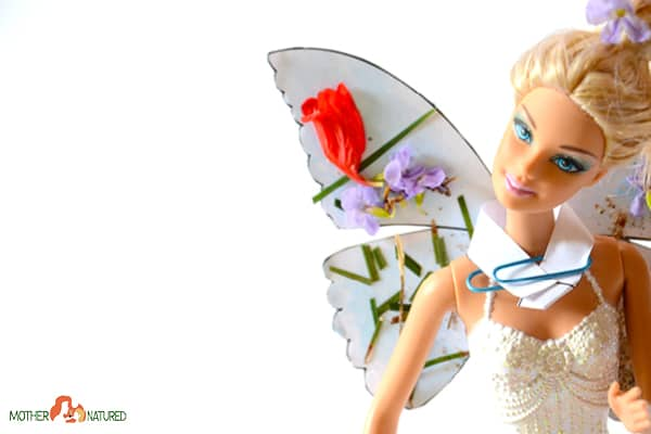 DIY butterfly Barbie wings printable