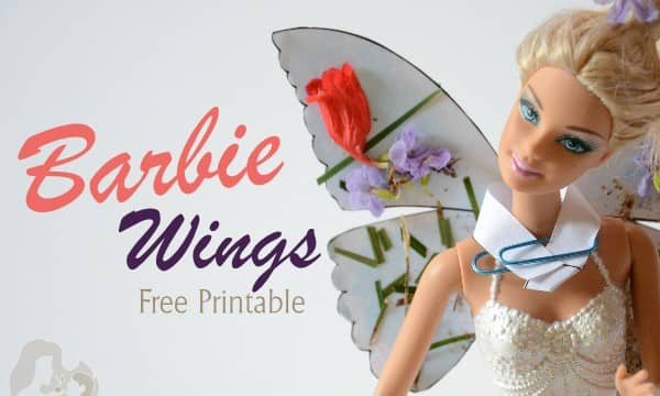 Barbie doll wings