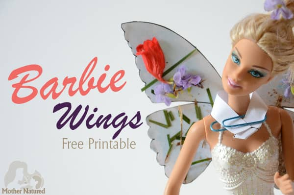 Barbie doll wings