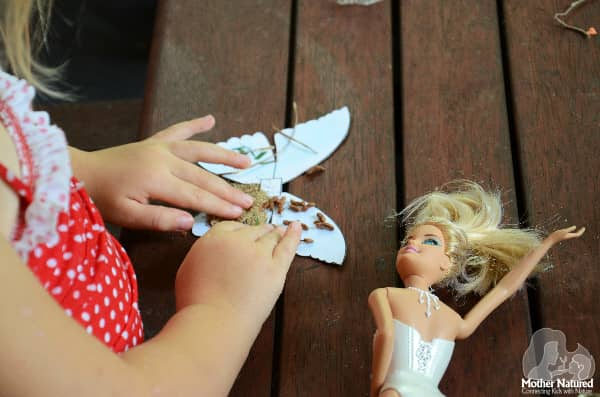 Barbie clothes and wings