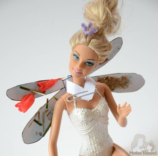 Dragonfly wings for Barbie