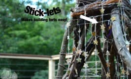 Stick-lets: building with sticks just got easier!