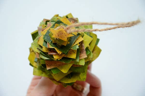 The Christmas tree nature craft you'll ooo and aaah over!