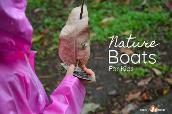 Nature Boats: Collecting, building and floating fun