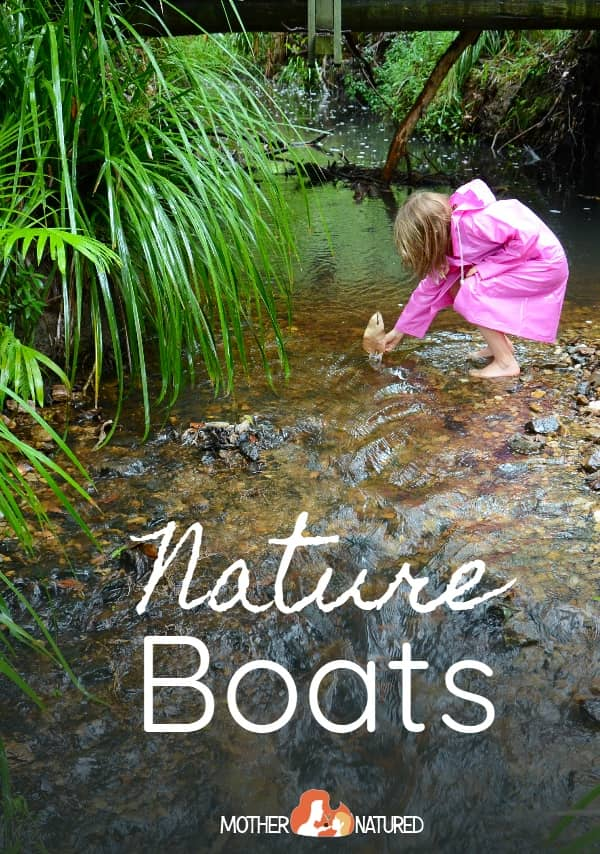 Nature boat Crafts