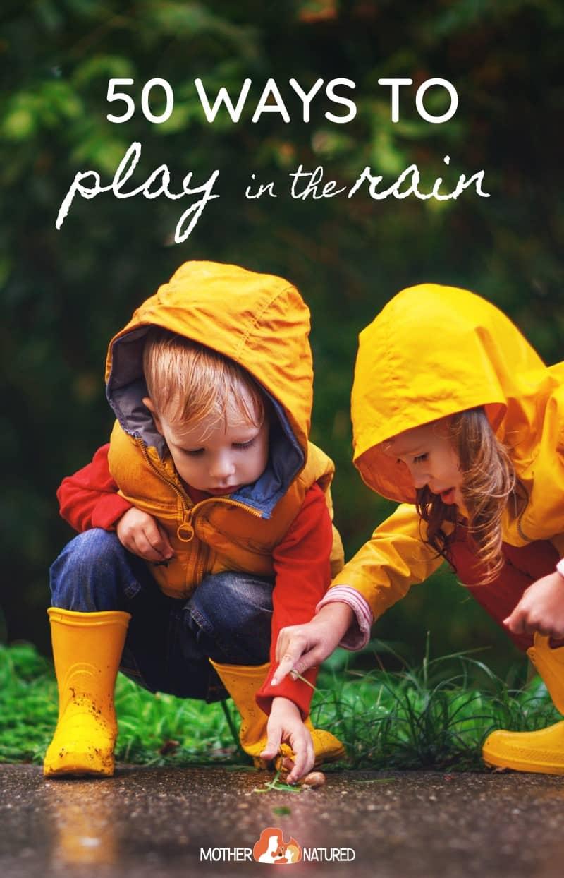Rain Activities for Kids