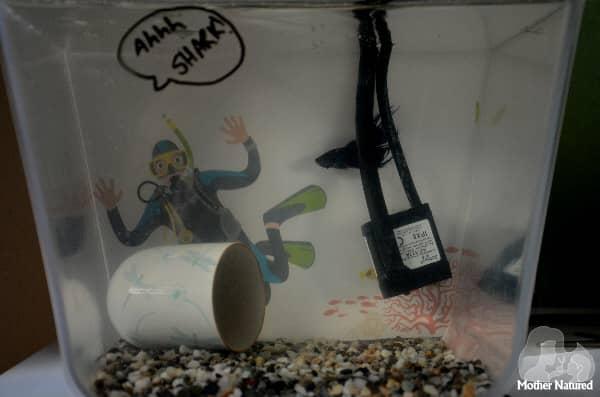 Fish tank Backdrop Printable