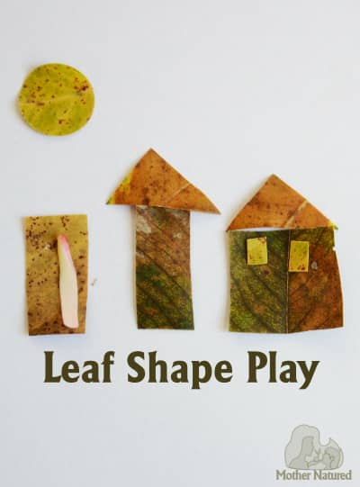 Leaf Shape Play for Kids