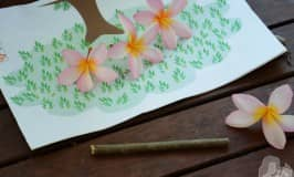 Tree printable: learning numbers with natural materials