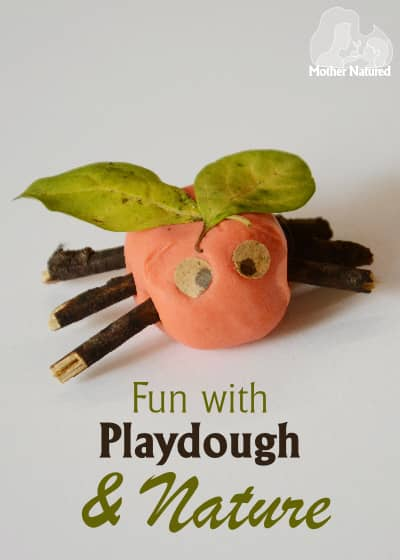 Fun things to make with playdough and anture