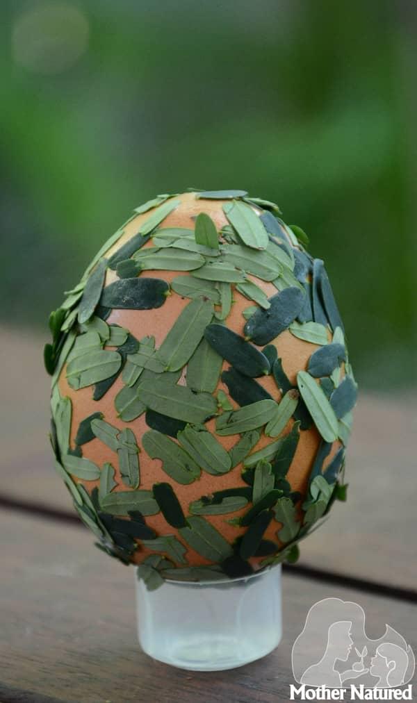 Textured egg Craft