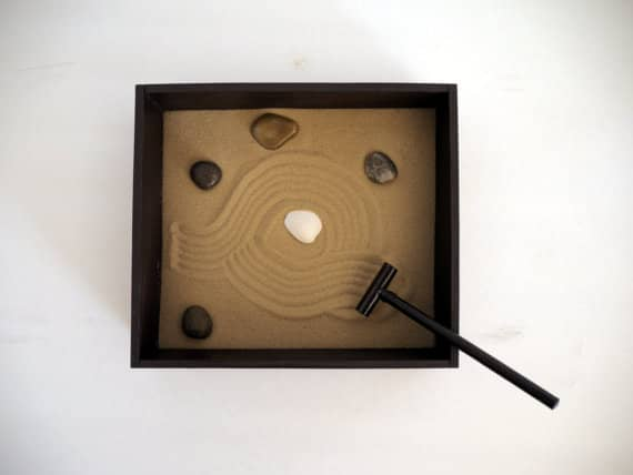 Home office Zen Garden