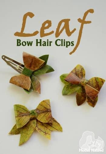Make a Bow using a leaf