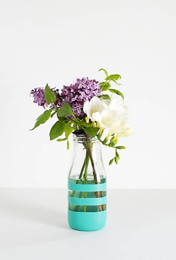 Striped-vase-DIY