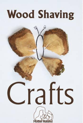 Nature Crafts: Stick Shaving Crafts