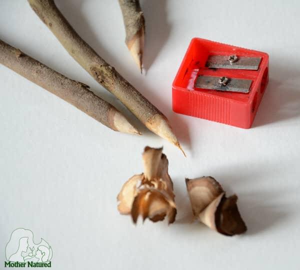 Wood Stick Shaving Crafts