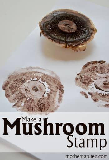 Make a Mushroom Stamp