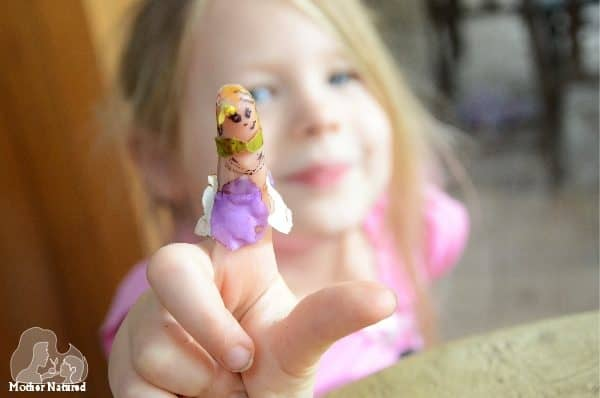 Nature finger puppets your kids will enjoy creating