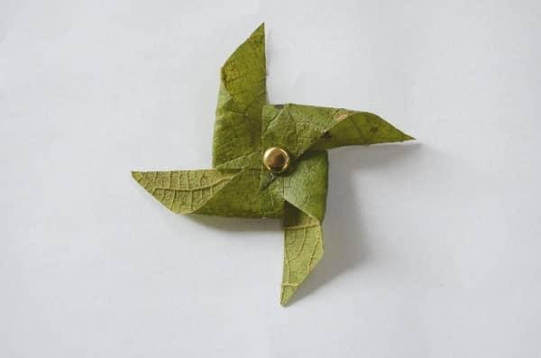 Leaf Pinwheel