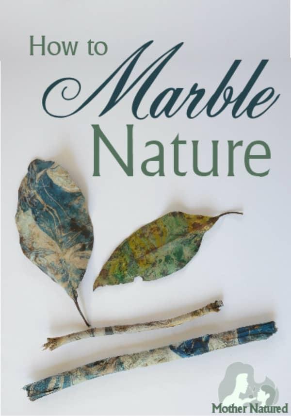 Nature Marbling