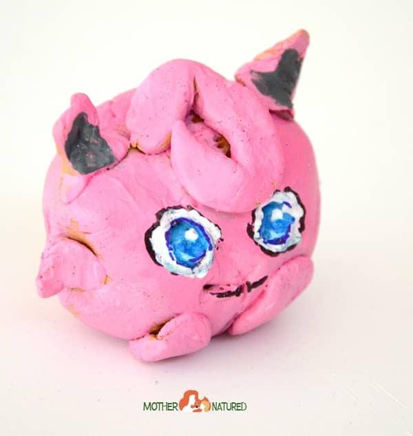 Jigglypuff pokemon craft