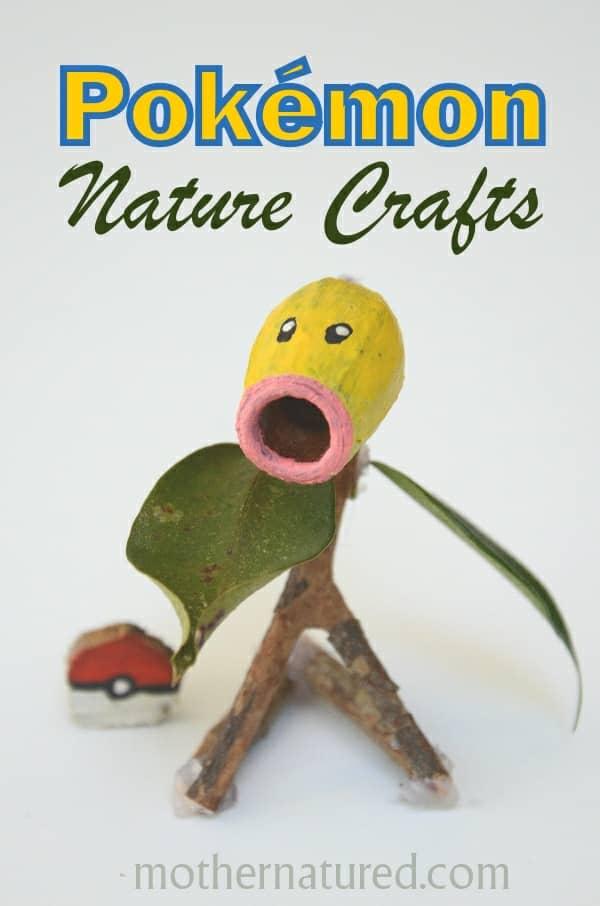 Pokemon Nature Crafts Kids