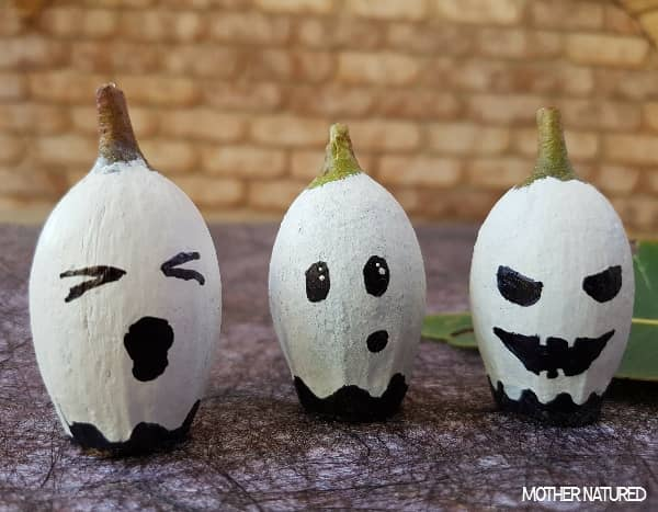 Gumnut ghosts