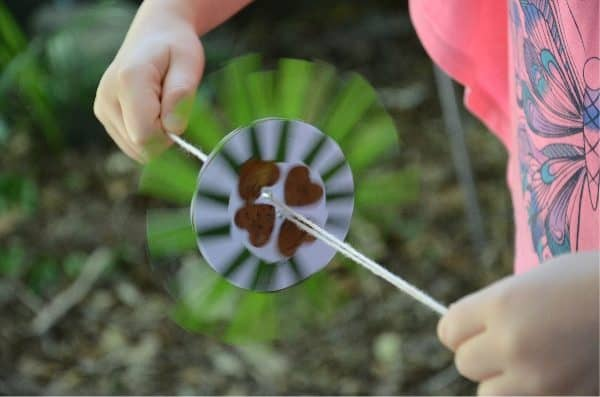 A simple nature spinner everyone can make!
