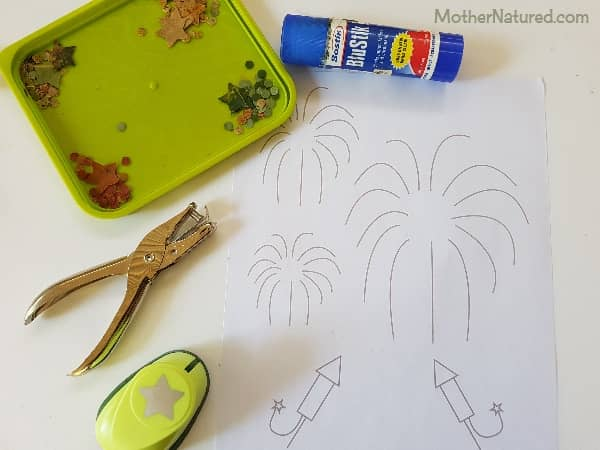 New Year Nature Craft